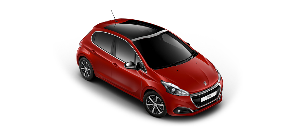 Peugeot 360 176 View 208 Allure Cielo Package