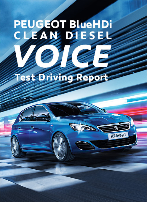 PEUGEOT BlueHDi CLEAN DIESEL VOICE -Test Driving Report-