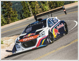 208 T16 Pikes Peak Qualifying Race