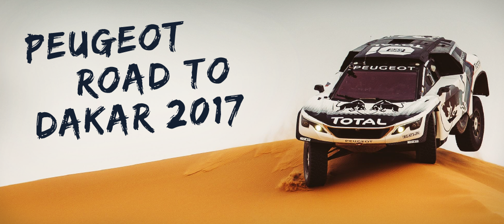 PEUGEOT ROAD TO DAKAR 2017